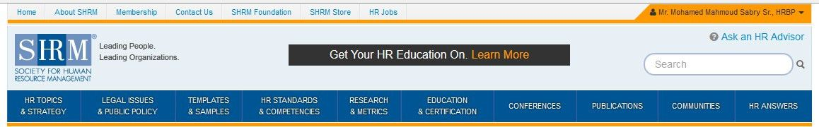 SHRM Forms & Templates   HR Mohamed sabry