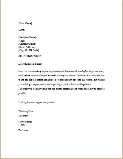 Salary certificate request letter sample application for employee salary request letter template c word excel templates yadclub Gallery