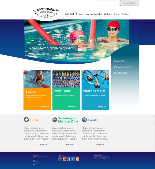 pool2 - Google Sites Templates