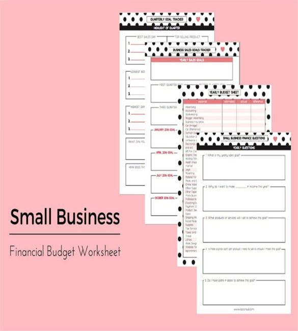 13+ Business Budget Templates - Free Sample, Example, Format ...
