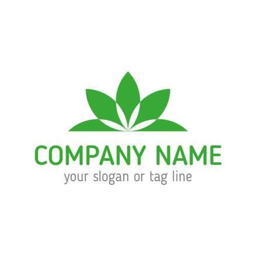 Buy Vector Green Company Logo Template for Branding!