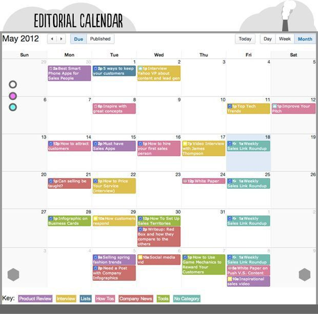 29 best Editorial Content Calendar Templates images on Pinterest ...