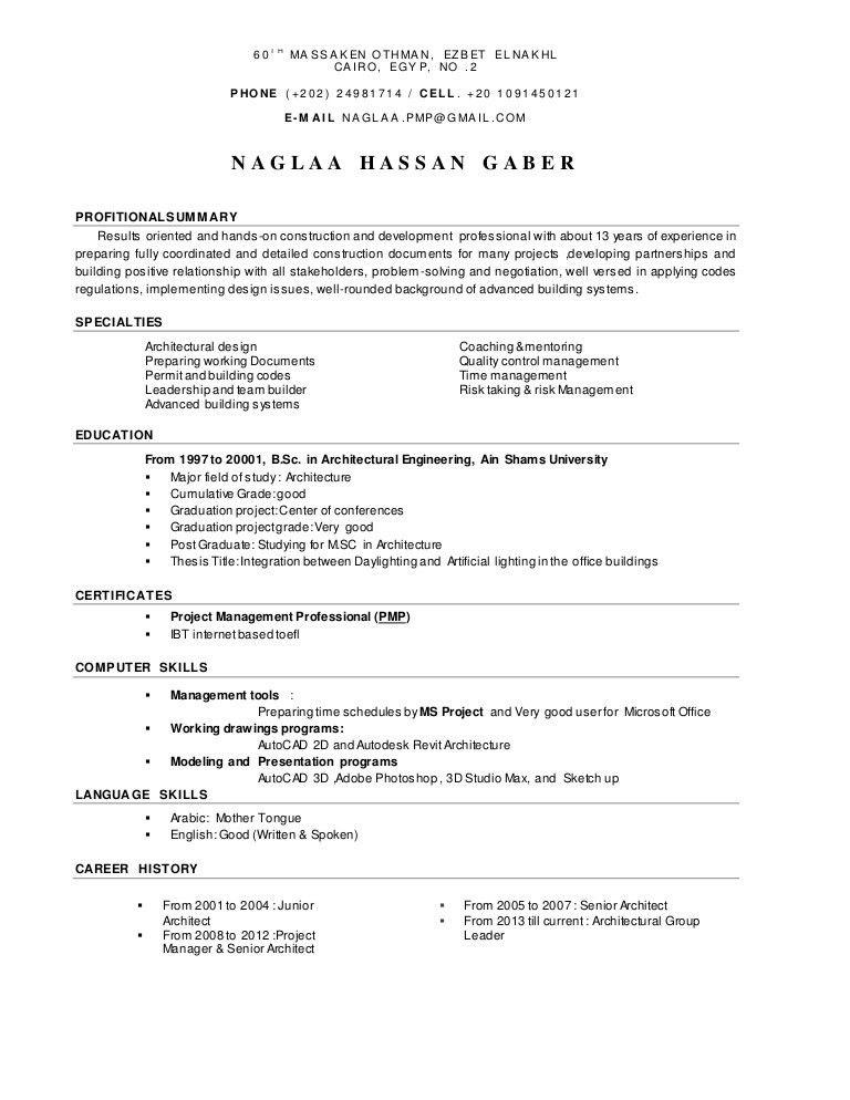 Naglaa Hassan Gaber CV