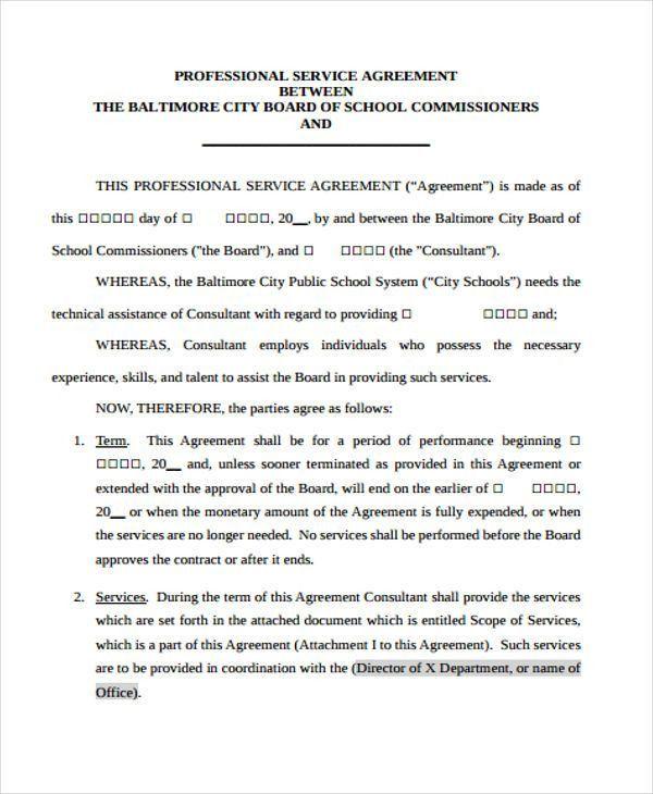 37+ Free Agreement Templates | Free & Premium Templates