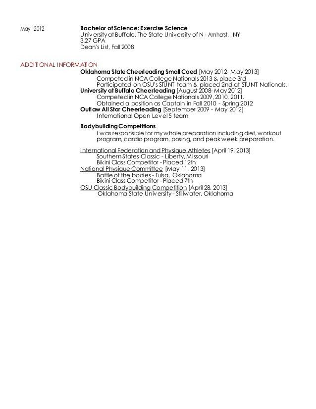 JUSTINE GROSSO Resume 2015