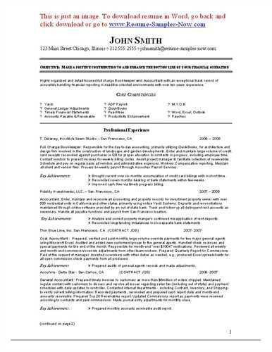 Resume Example Bookkeeper. Resume. Ixiplay Free Resume Samples