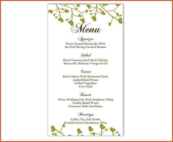 MENU TEMPLATE WORD.Restaurant Menu Template.png - proposal bid ...