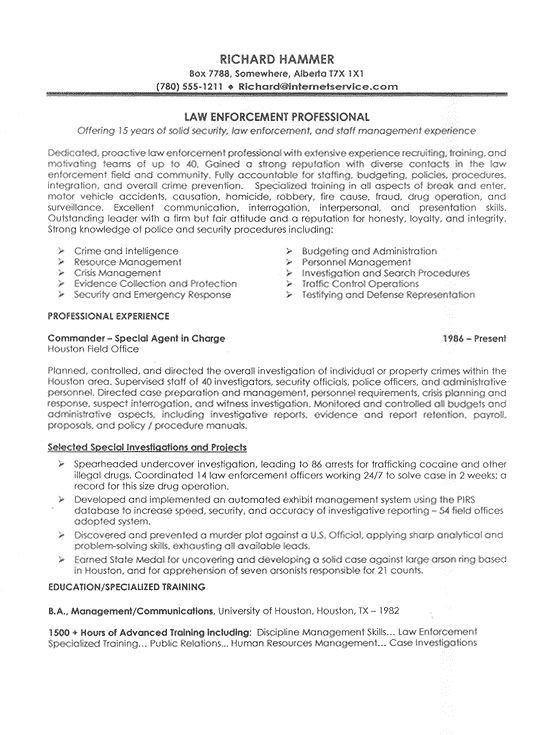 Records officer sample resume 7303738 - 1cashinginfo