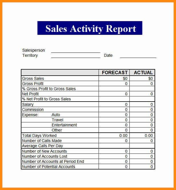 Sales Report Template. Sales Report Excel Template – Top 10 ...