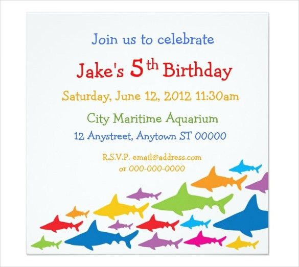 Birthday Invitation Email Template – 27+ Free PSD, EPS Format ...