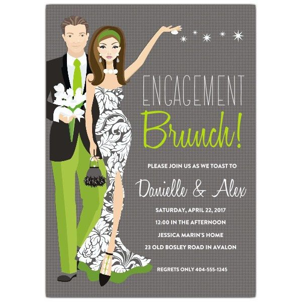 Engagement Party Invitation wording | PaperStyle