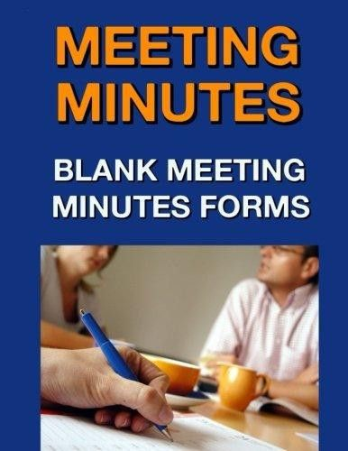 Meeting Minutes: Blank Meeting Minutes Forms - Walmart.com