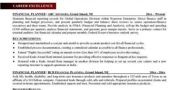 Accountant Resume Sample Financial Advisor Assistant Resume Sample ...