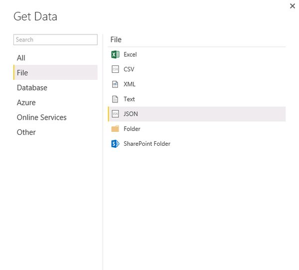 Solved: An json example - Microsoft Power BI Community