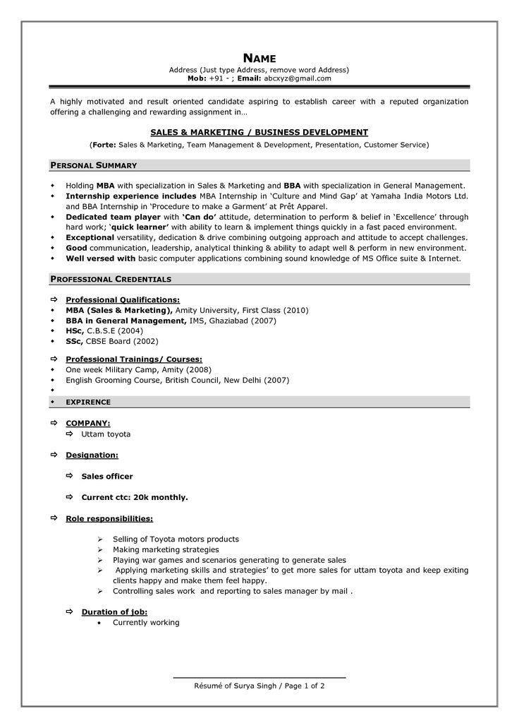 sample resume format for freshers call center job cover letter ...