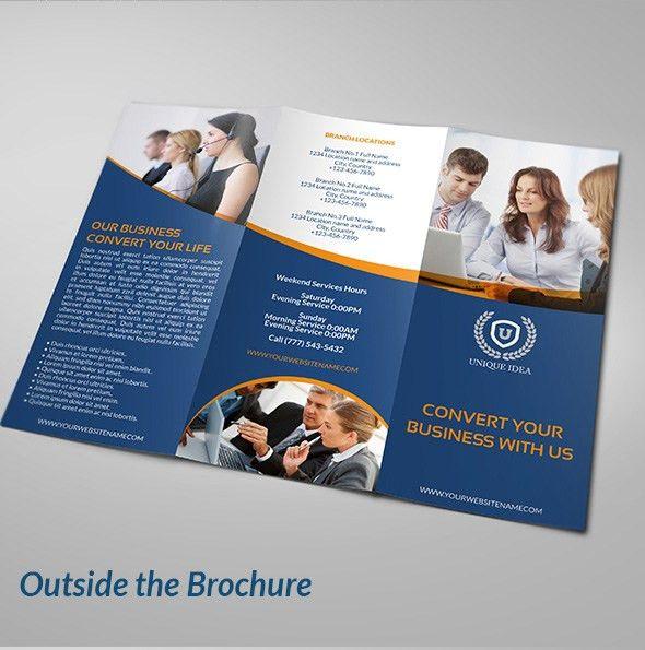 25 Creative Corporate Brochure Design ideas for your Inspiration ...