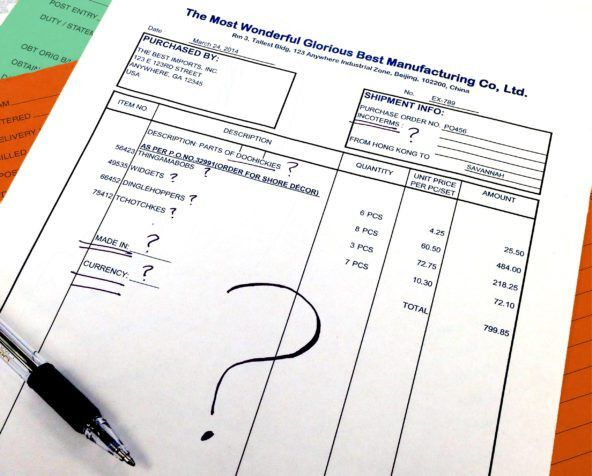 The Anatomy of a Perfect Commercial Invoice: 11.5 Point Checklist ...
