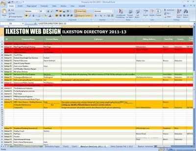 DIY Excel Customer Management Database (EU Requirement)