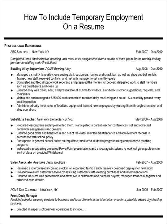 Employment Resume 22 Sample Cover Letter And Job Advertisement ...