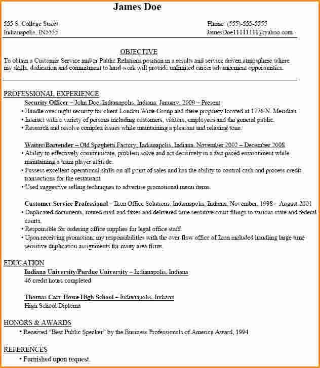 8+ freshman college student resume examples | Invoice Template ...
