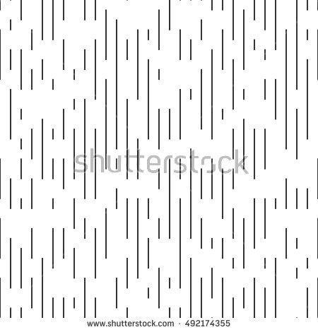 Vector Thin Line Pattern Minimal Monochrome Stock Vector 492174355 ...