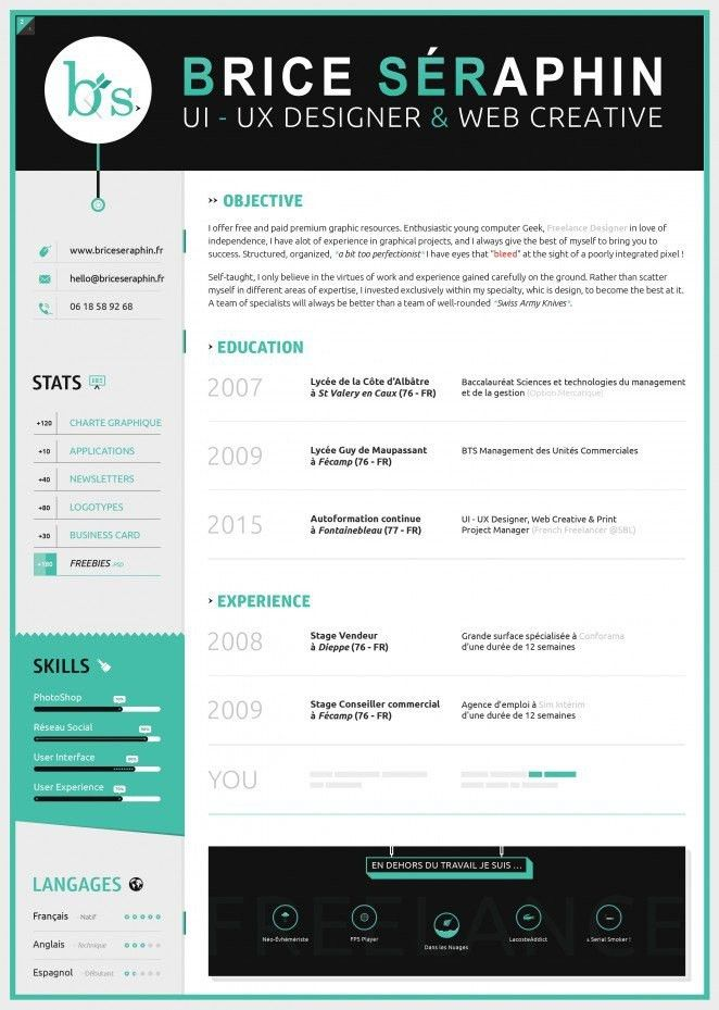 Resume Template On Word. Free Cv Template For Microsoft Word ...
