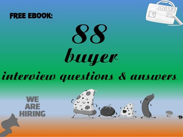 88 buyer interview questions and answers