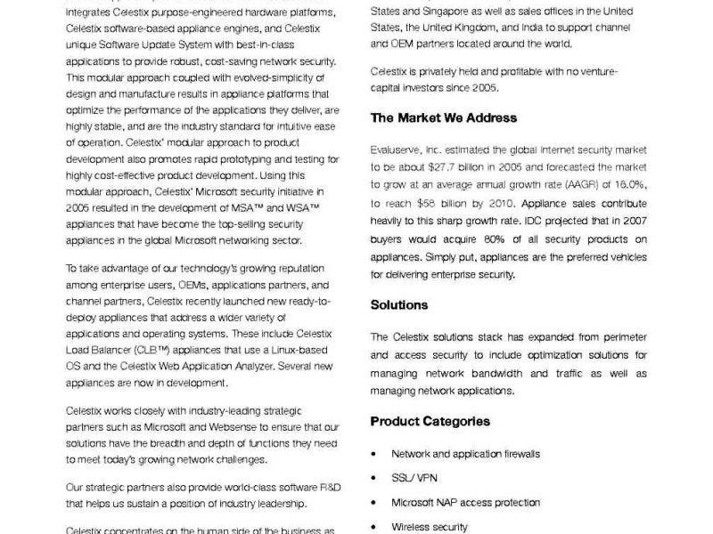 Business Profile Template Word | TemplateZet
