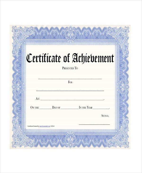 9+ Award Certificates Examples, Samples