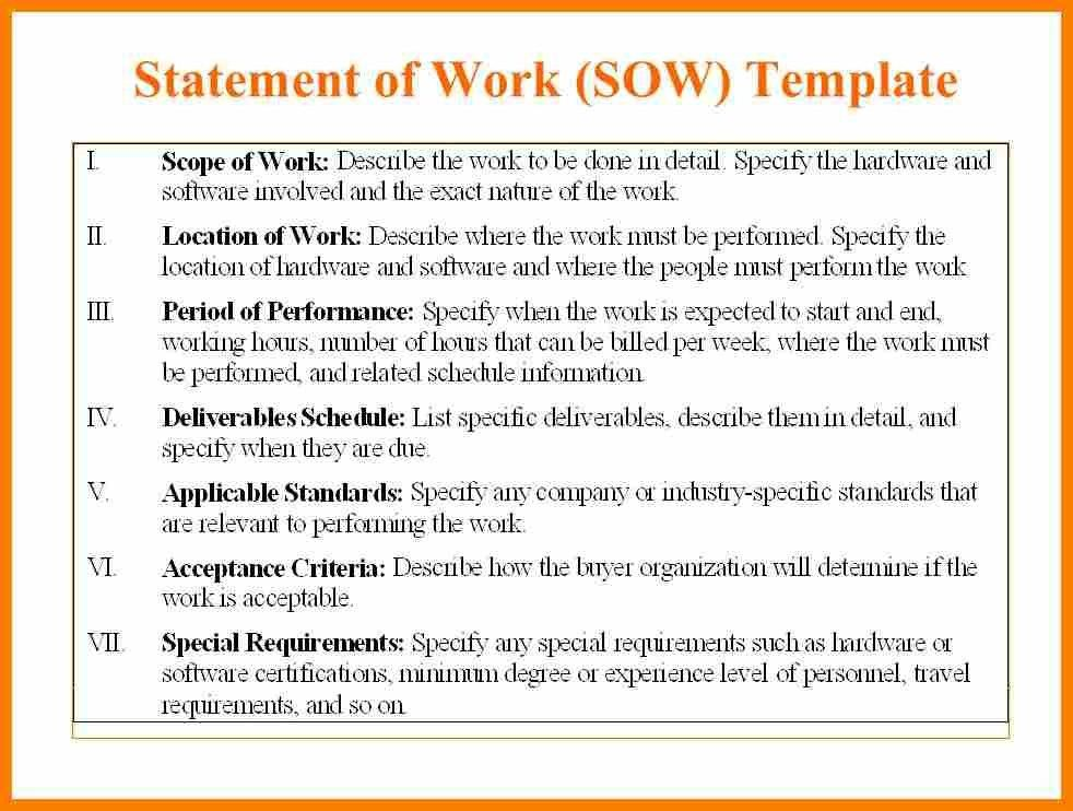 3+ statement of work template word | monthly budget forms