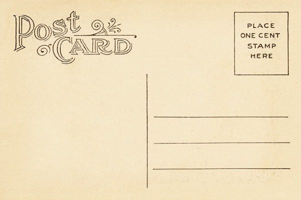 Vintage Postcard Template | ... Vintage Backgrounds: Bringing in ...