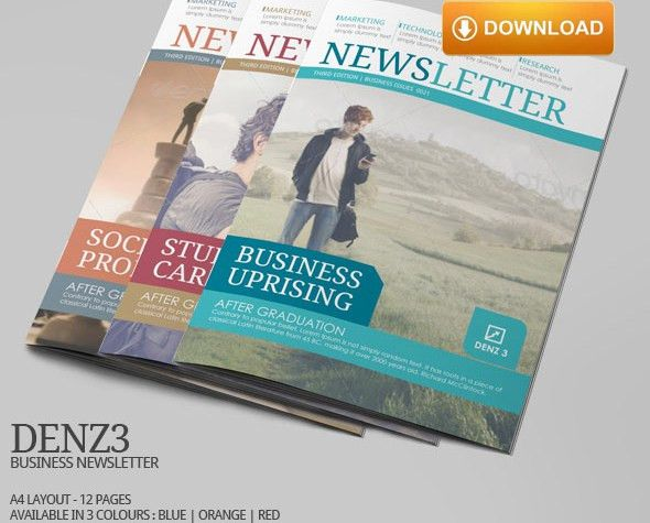 Famous Indesign Newsletter Templates – Top Newsletter Template