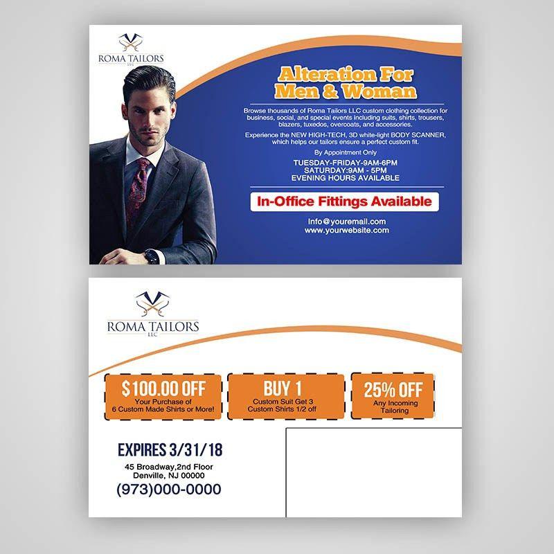 Business EDDM Postcard Design PSD Template | PSD Template