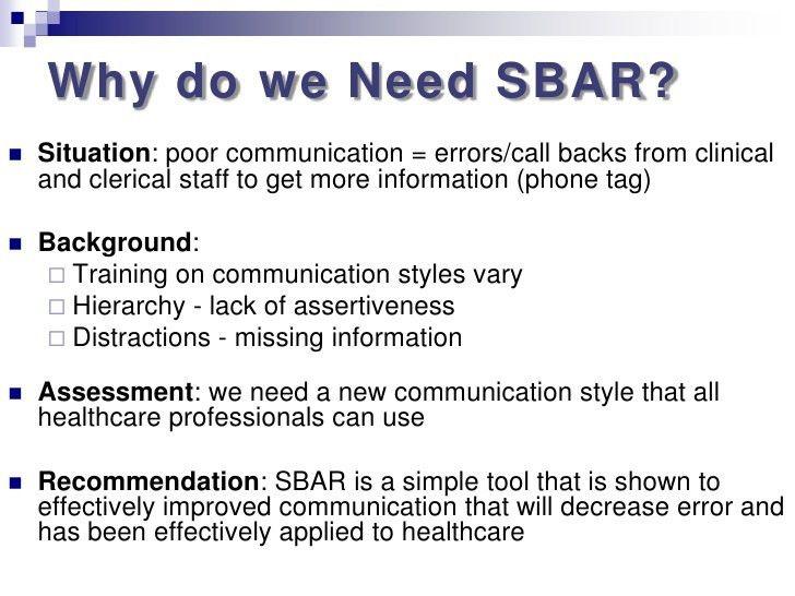 Nursing Sbar Template - Ecordura.com