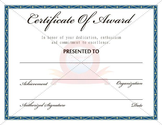 Designs of Certificate Templates | Certificate Templates