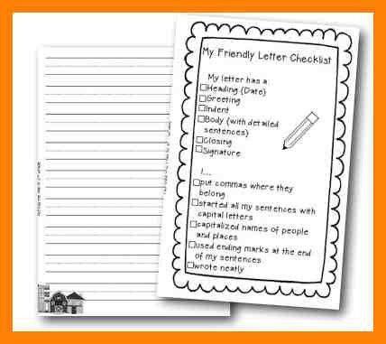 4+ informal letter checklist | intern resume
