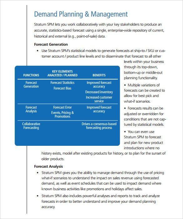 Sales Analysis Template U2013 8+ Free Word, Excel, PDF Format Download .