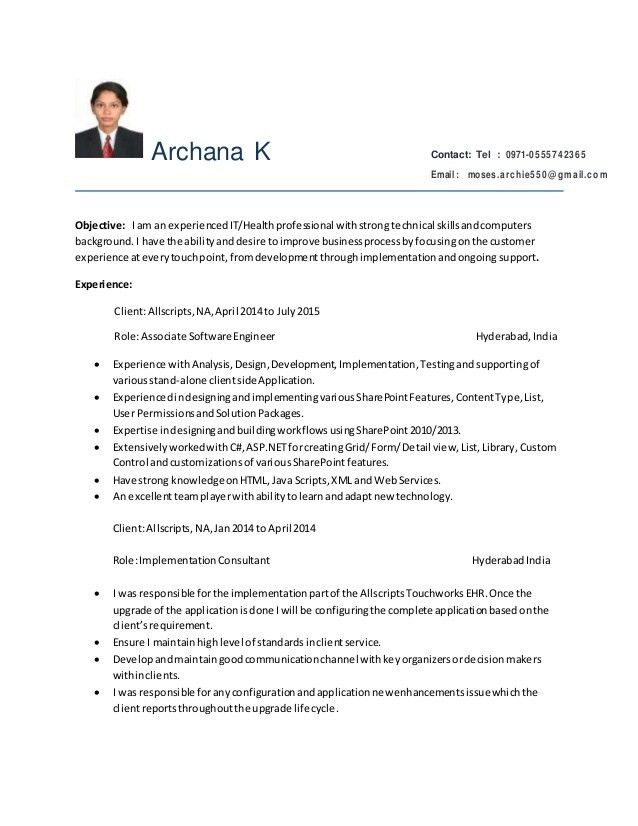 sharepoint administrator resumes
