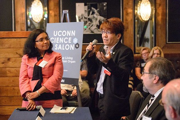 Food for Thought at UConn's First Science Salon - UConn Today