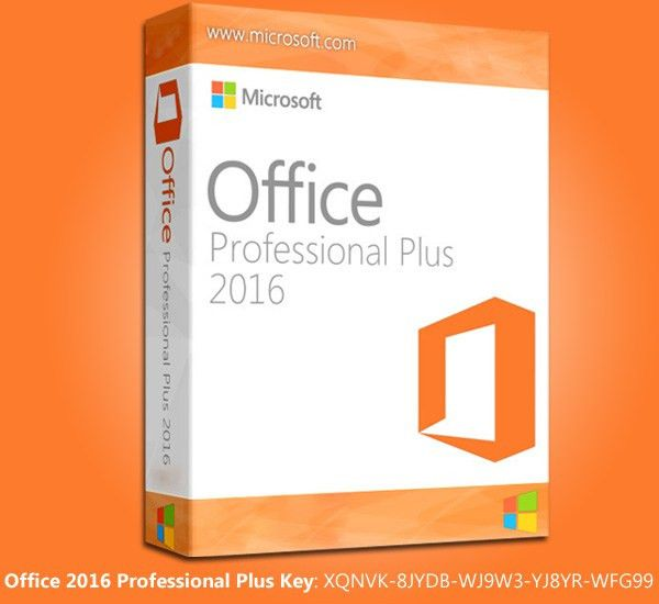 Microsoft Office [Professional Plus] 2016 With Product Key ...