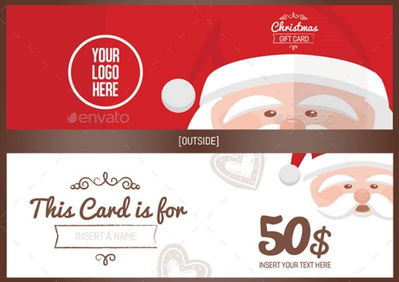 10+ Christmas Gift Voucher Templates - Creativetemplate | Creative ...