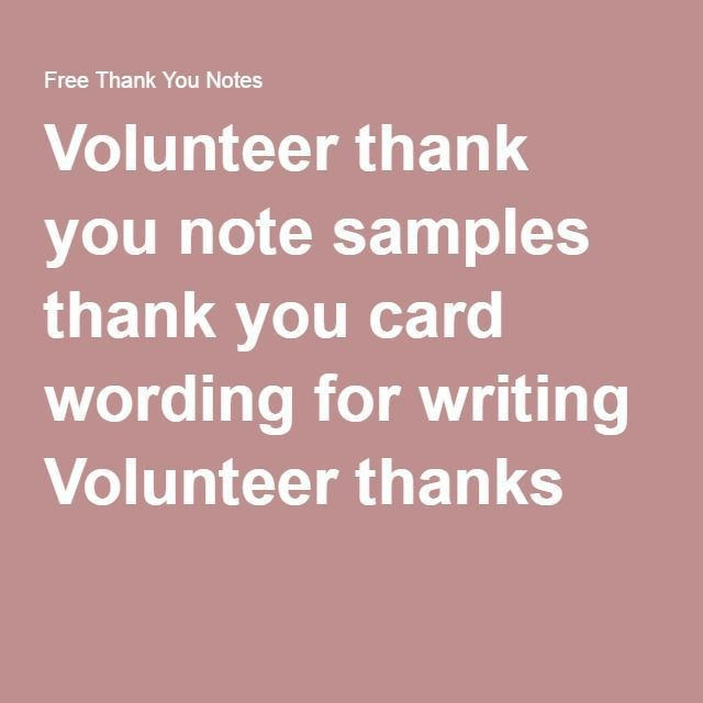83 best Thank you Note Examples images on Pinterest | Thank you ...