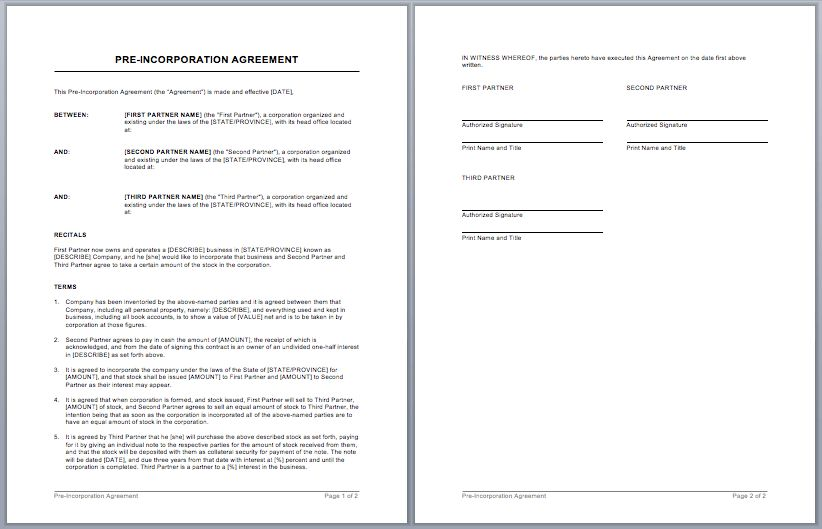 Sales Contract Template – Microsoft Word Templates