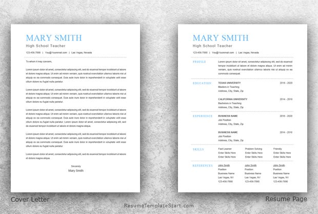 Traditional Resume Template Word - Resume Template Start