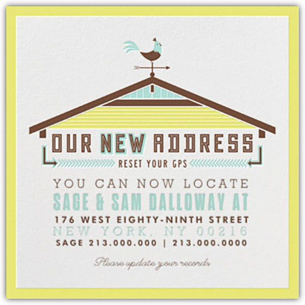 We're Moving: Change of Address Cards {free printables} | Homes.com