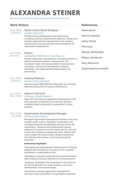 Download Instructional Design Resume | haadyaooverbayresort.com