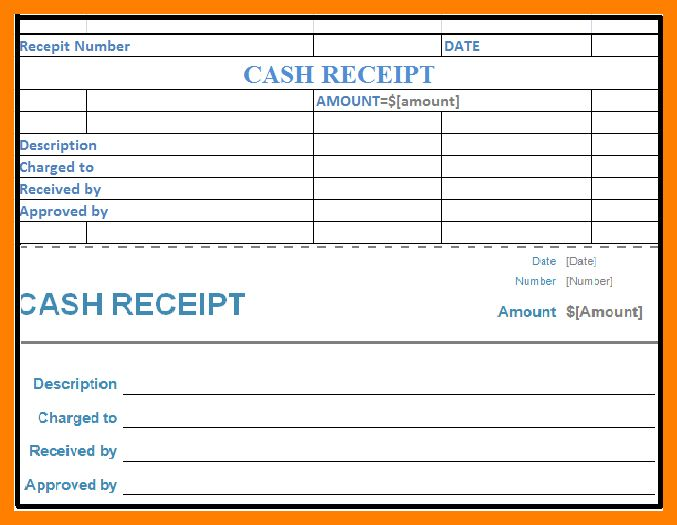 5+ cash receipt voucher format | fancy-resume