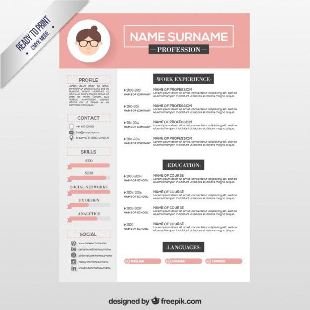 Fancy Design Resume Template 12 49 Creative Templates Unique Non ...