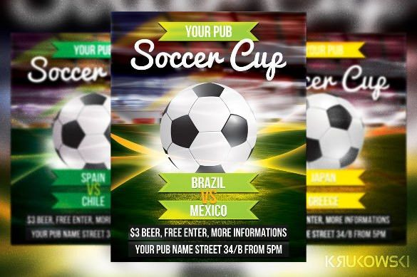 Soccer Flyer Template - 37+ Free PSD Format Download | Free ...