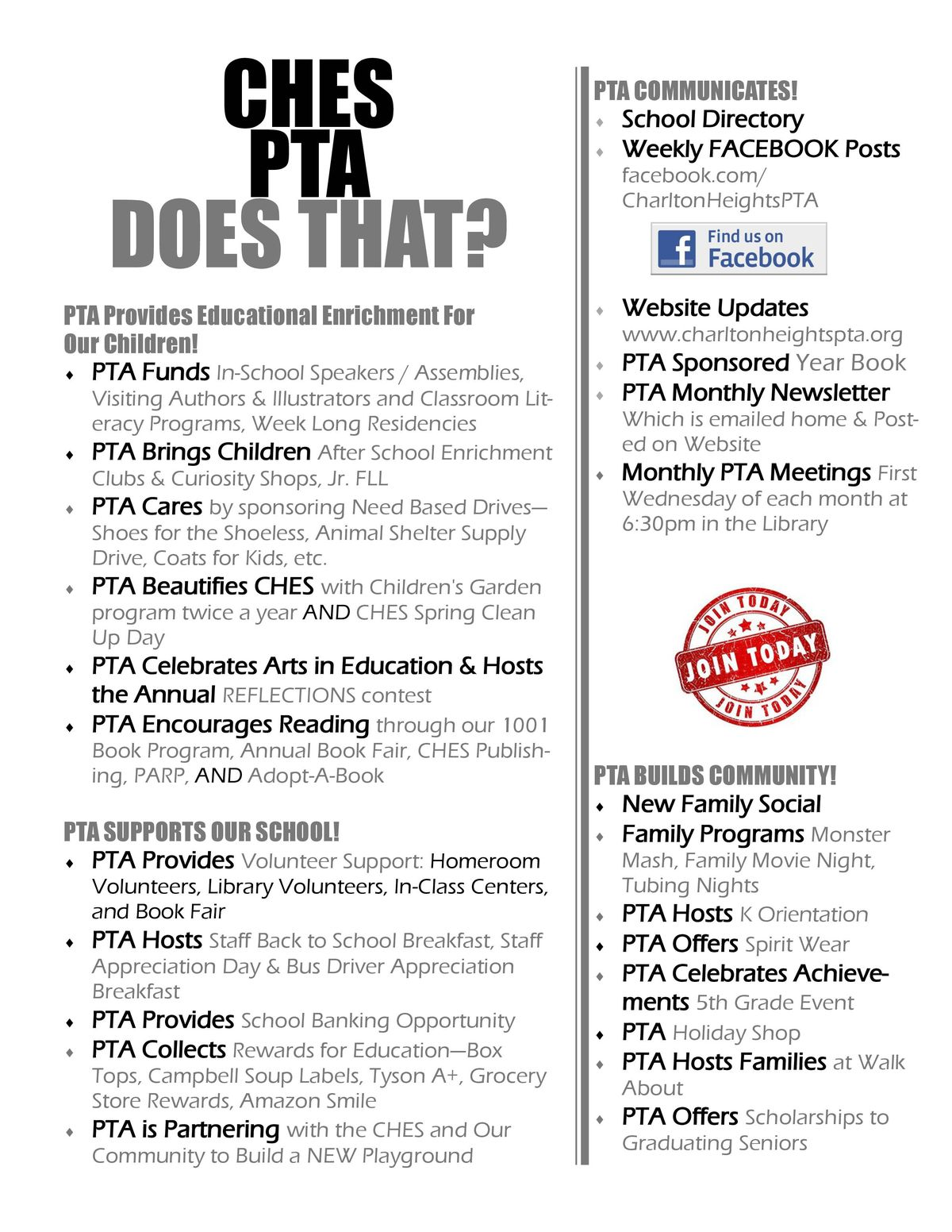 Great Parent Teacher Association Posters For Your Pta  Pto All